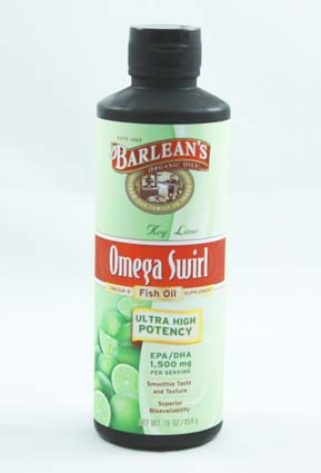 Barlean's Key LIme Omega Swirl Fish Oil