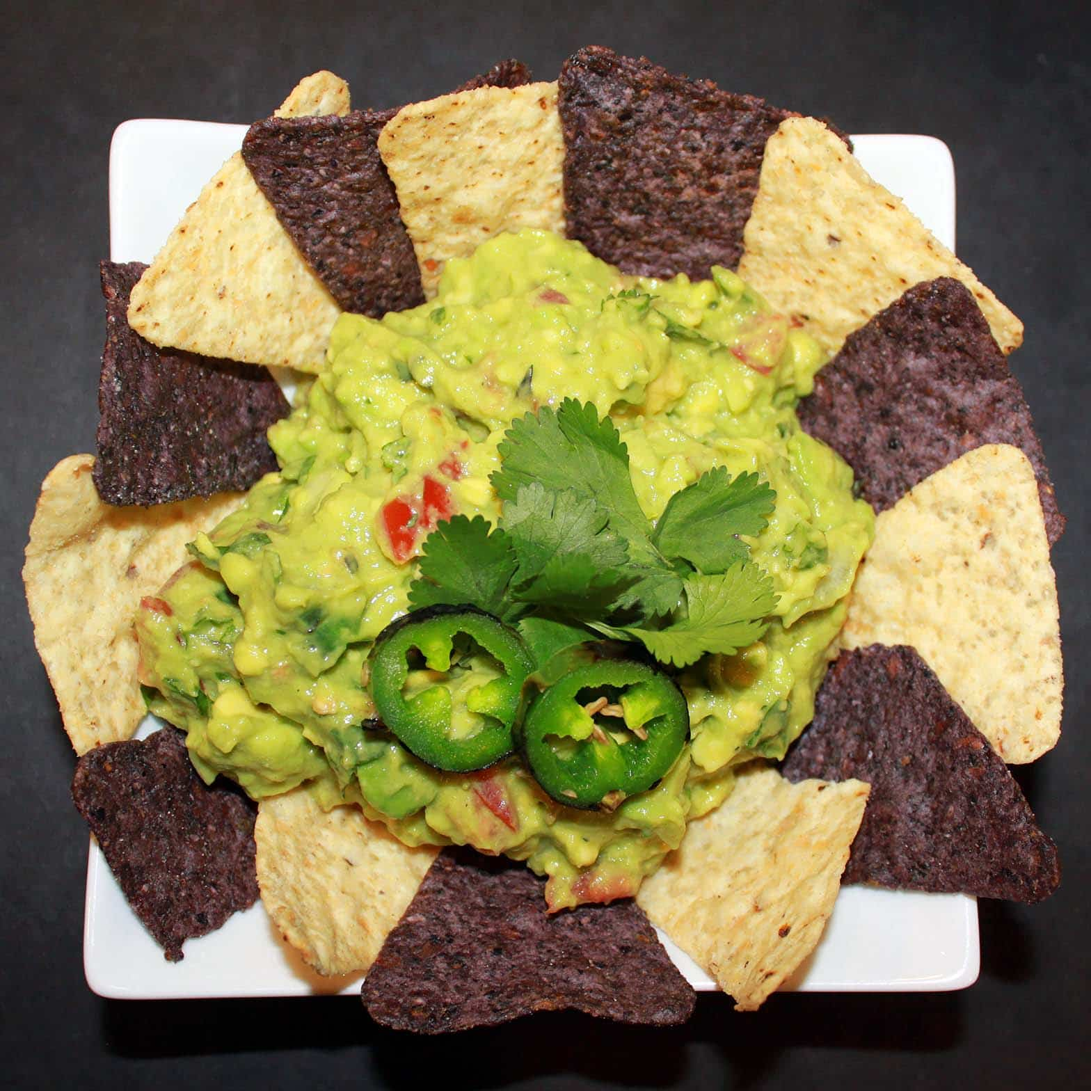 Recipe:  Fire-Roasted Three Chili Guacamole