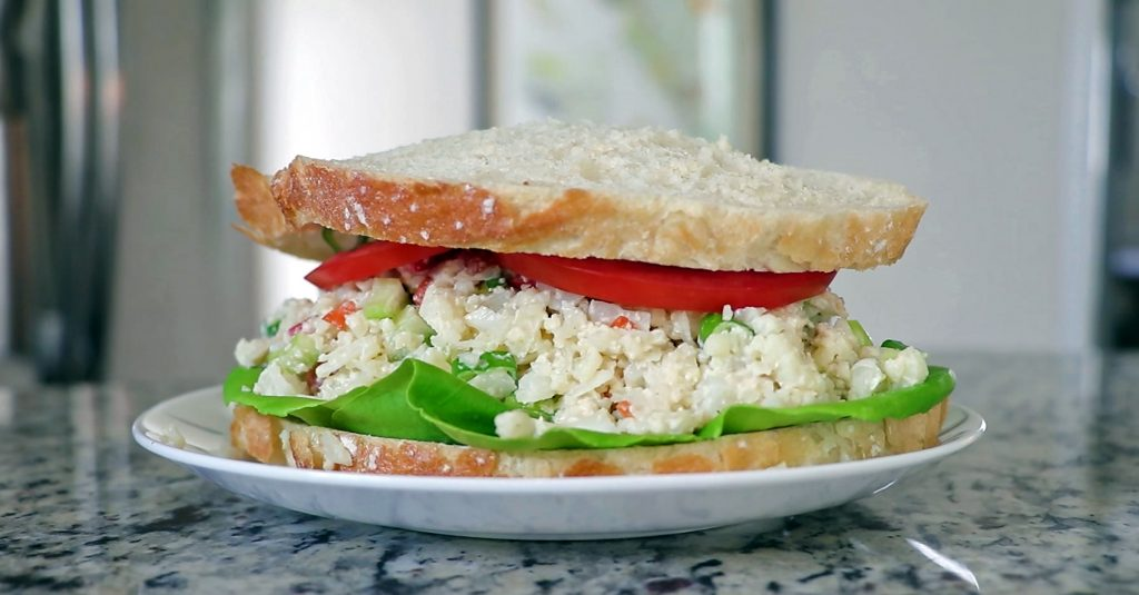 Vegan Cauliflower Egg Salad