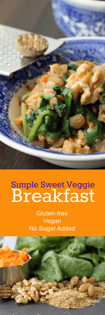 Sweet Veggie Breakfast Collage