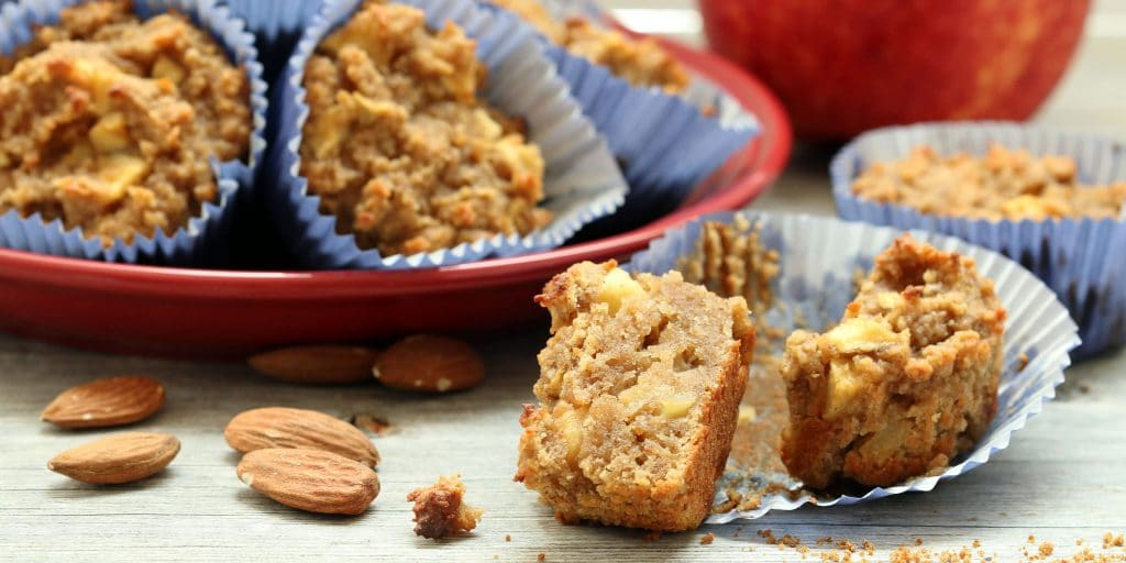 Apple Cake Muffins FB