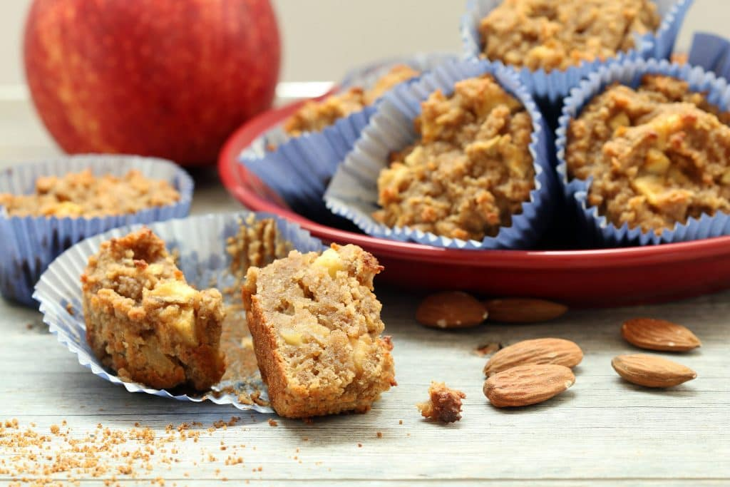 Apple Cake Muffins (Gluten-Free, Vegan, Refined Sugar-Free)