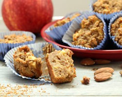 Apple Cake Muffins Grid New