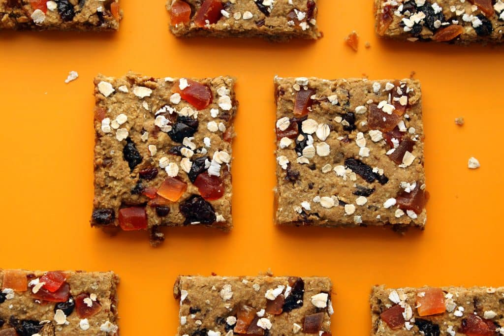 Morning Glory Protein Bars Baked