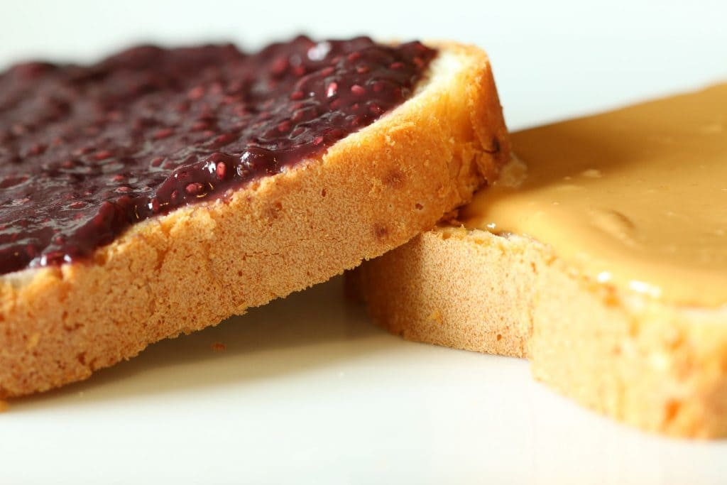 PB and J On Bread