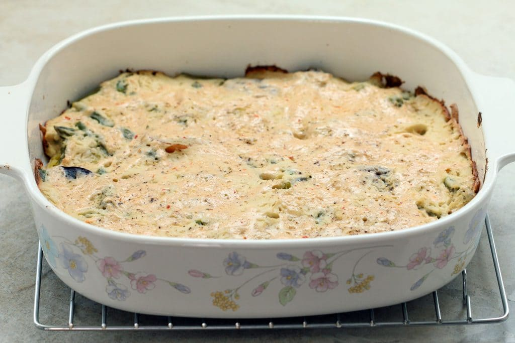Vegan Au Gratin Potatoes - Baked