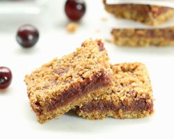 Cranberry Crumb Bars - Grid