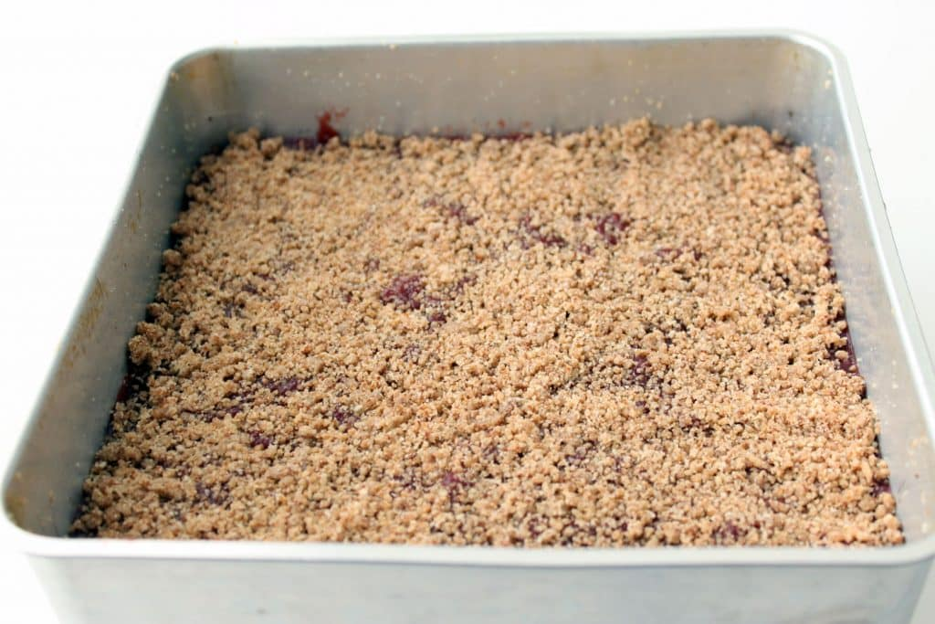 Fresh Cranberry Crumb Bars - Ready to Bake