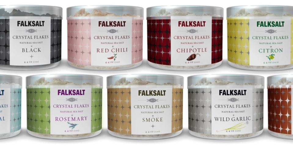 Product Giveaway: Falksalt Crystal Natural Sea Salt Flakes (Two Gourmet Flavors of Your Choice!)