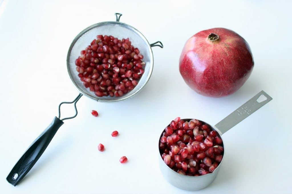 Pomegranate Seed Removal - Removed Arils