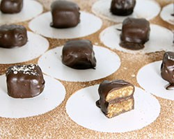 Toffee Nut Caramels - Grid