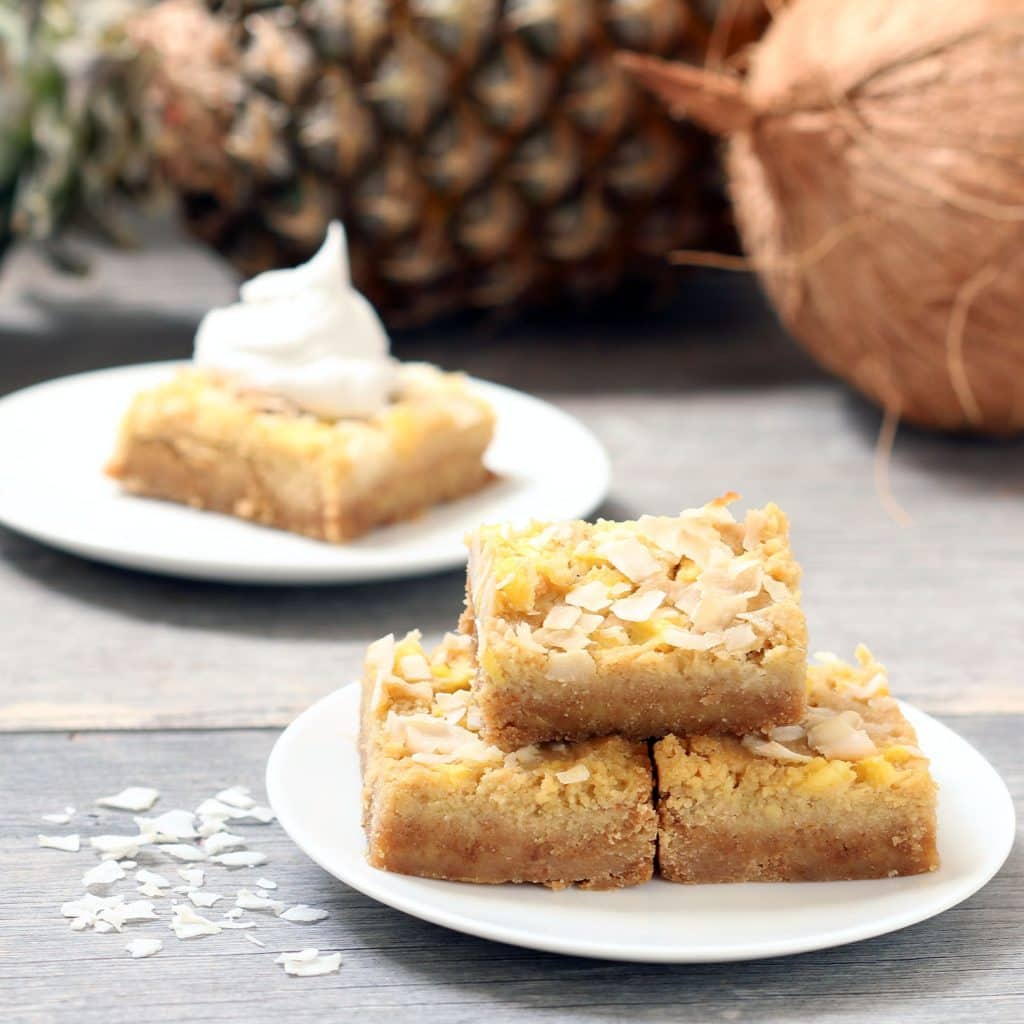 Pure Pina Colada Bars
