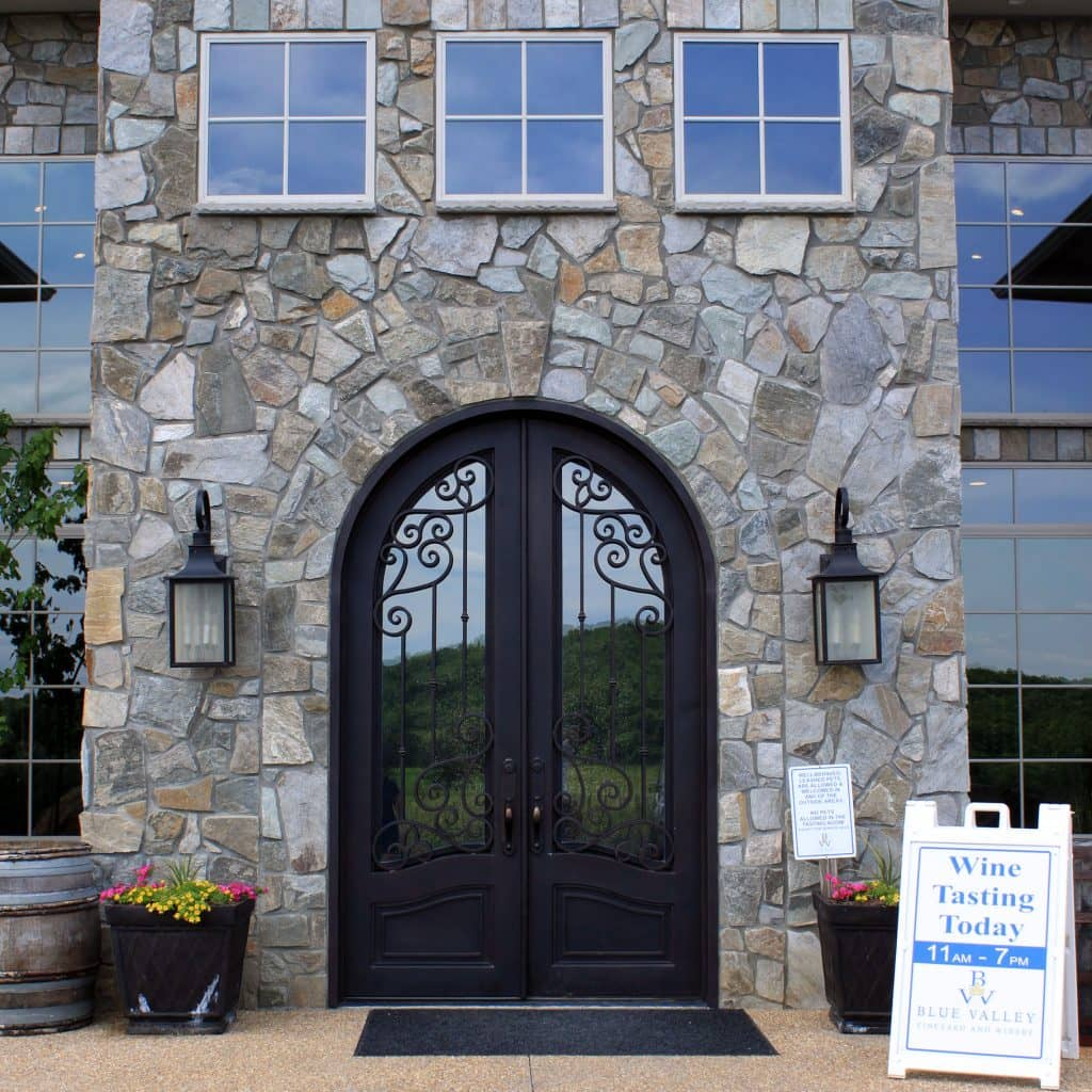 Blue Valley Winery - Entrance