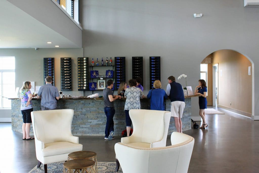 Blue Valley Winery - Main Tasting Area