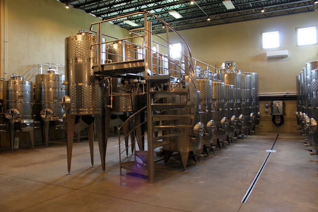 Blue Valley Winery - Wine in the Making