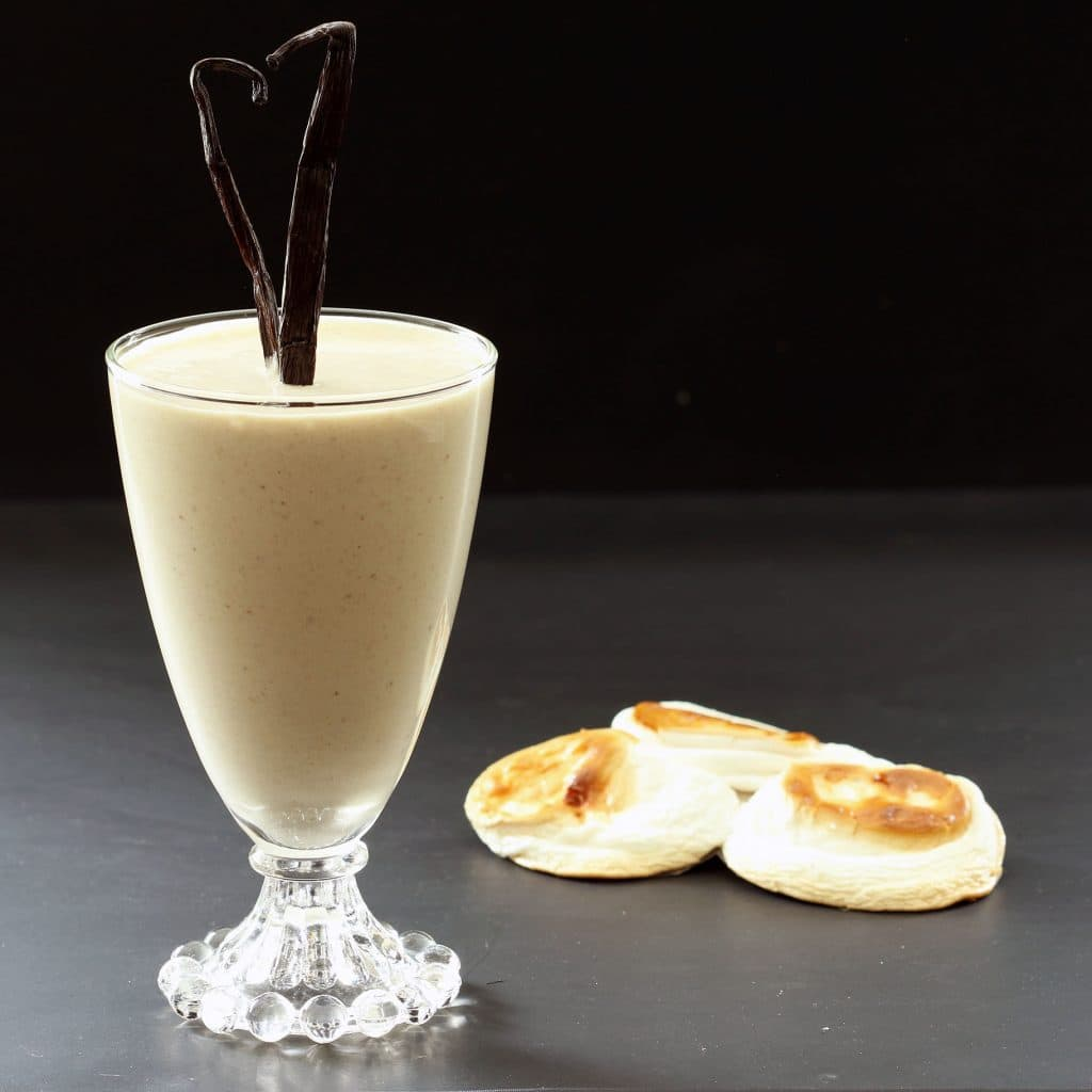 Toasted Marshmallow Vegan Smoothie - Breakfast Version