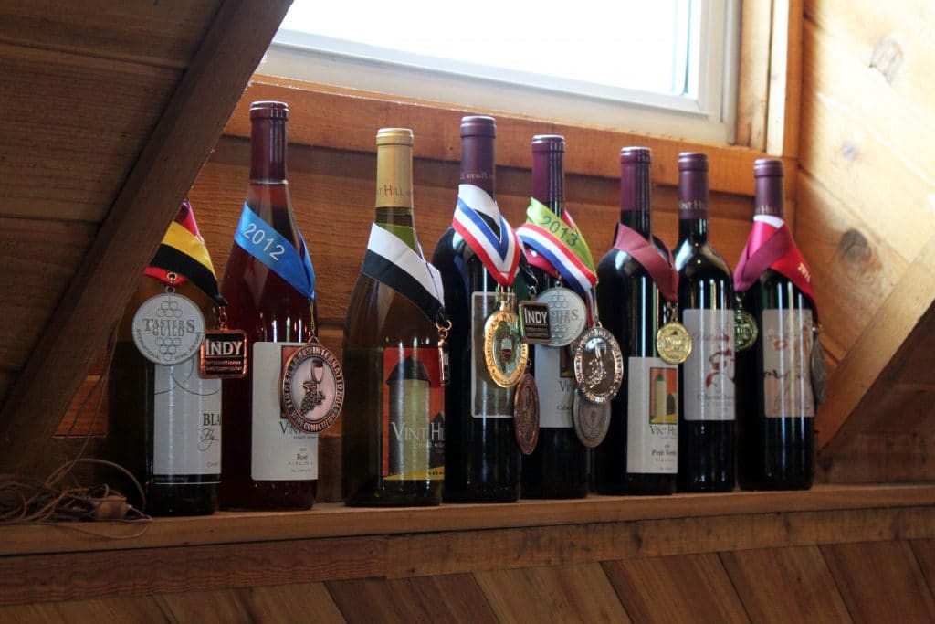 Vint Hill Craft Winery - Award Winners