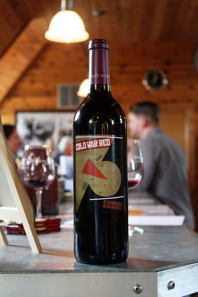 Vint Hill Craft Winery - Cold War Red