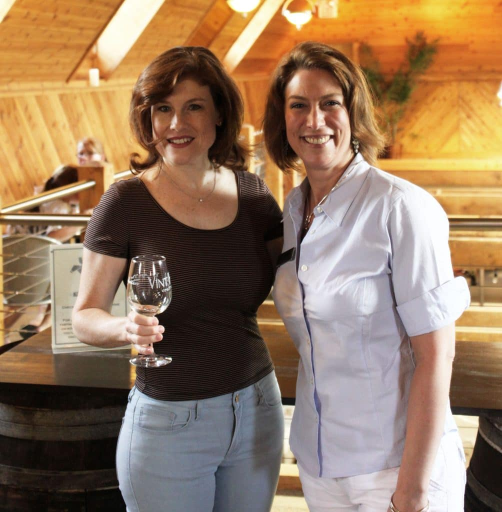 Vint Hill Craft Winery - Jana and Jennifer