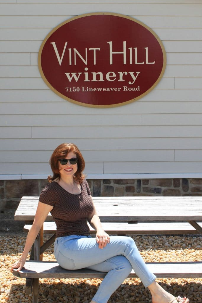 Vint Hill Craft Winery - Sign