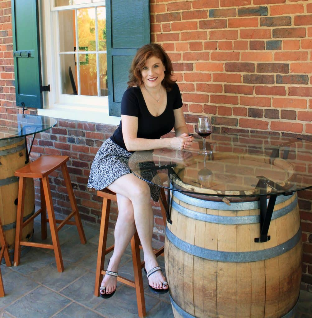 Winery at La Grange - Jana in Tasting Sunroom