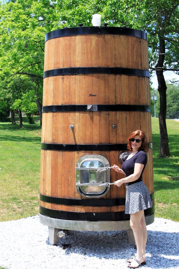 Winery at La Grange - Large Barrel