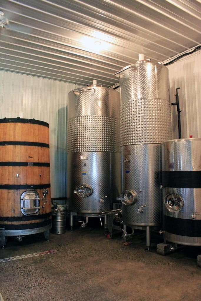 Winery at La Grange - Production Room