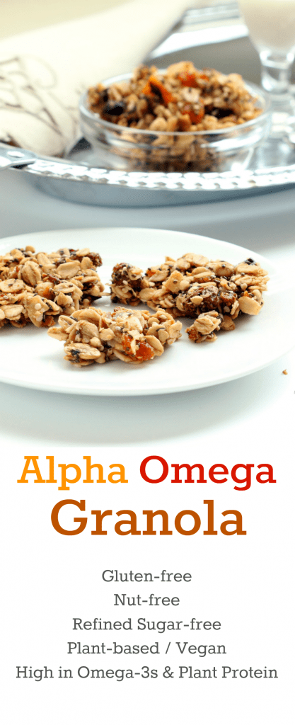 Alpha Omega Granola Collage