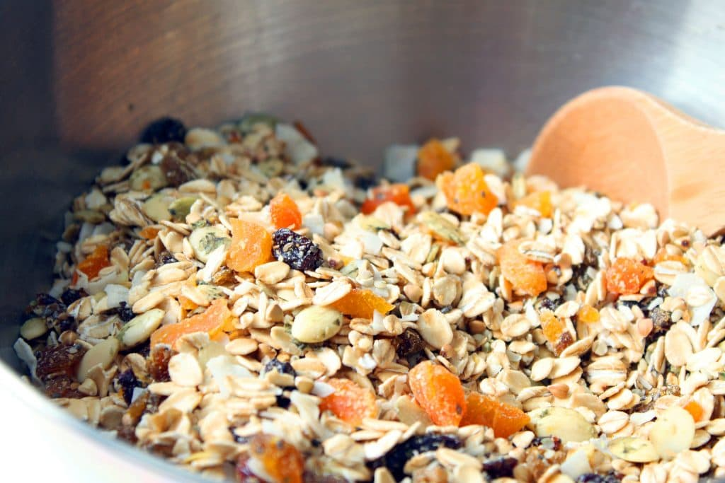 Alpha Omega Granola - Dried Fruit Mixed with Dry Ingredients