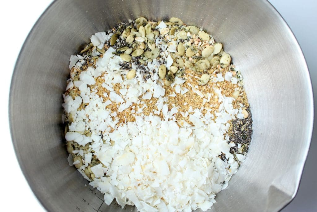 Alpha Omega Granola - Dry Ingredients