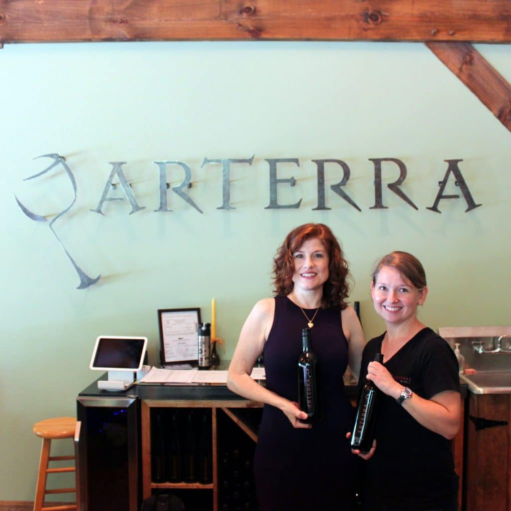 Arterra Wines - Jana and Kristy