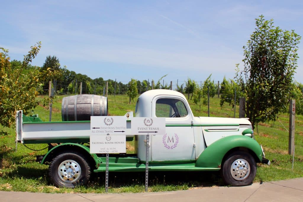 Morais Vineyards & Winery - Farm Truck