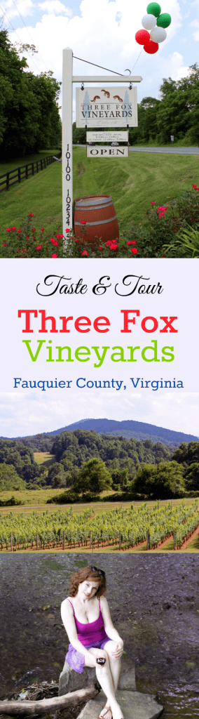 Three Fox Vineyards Collage