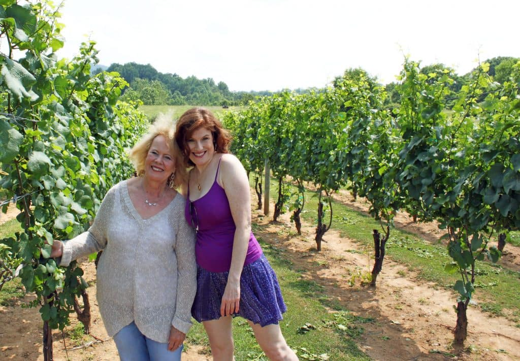 Three Fox Vineyards - Jana and Holli