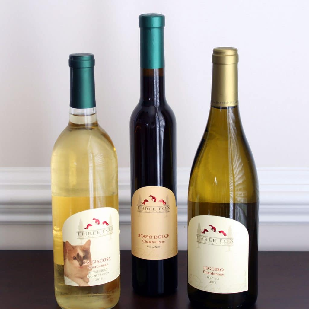 Three Fox Vineyards - Wines