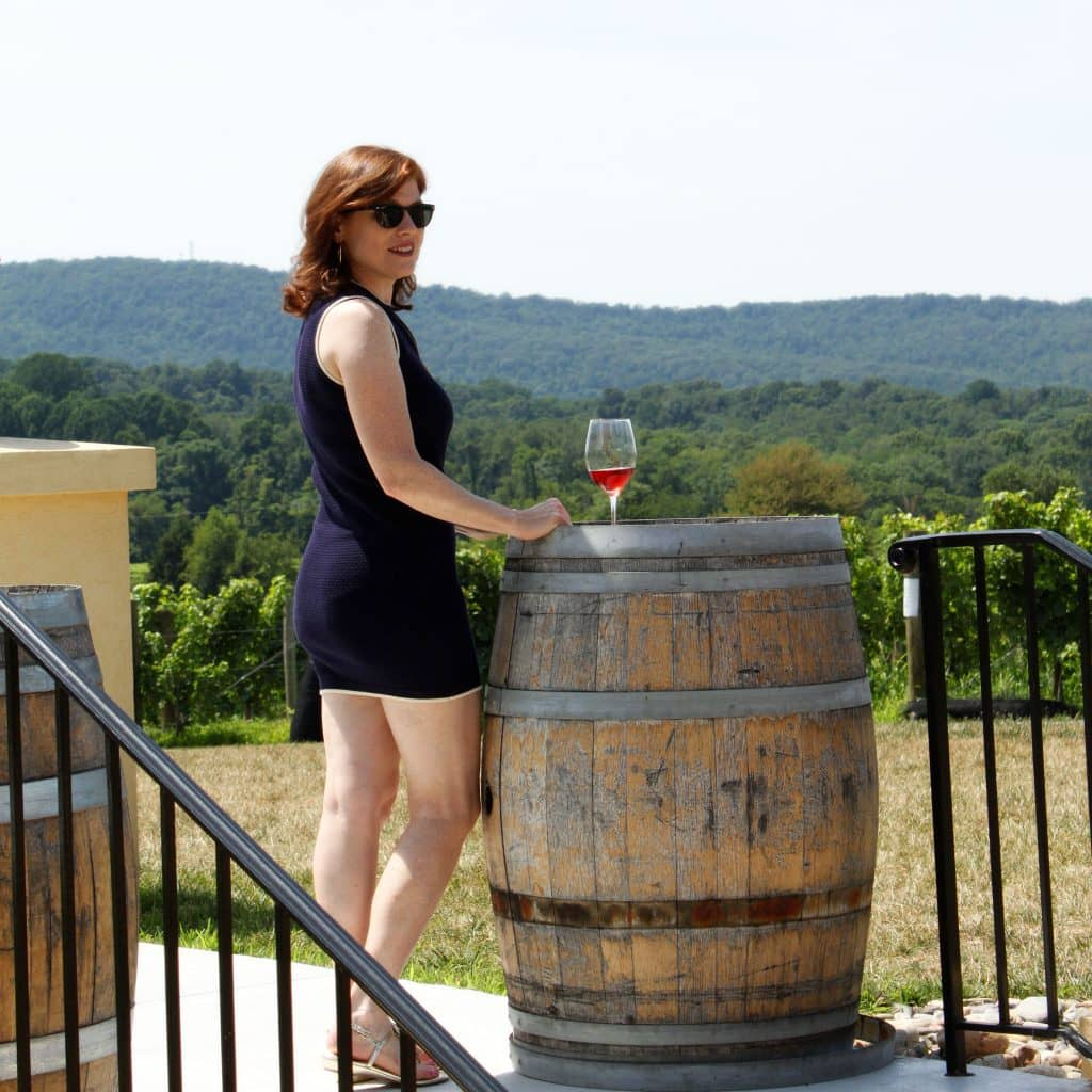 Breaux Vineyards - Overlook