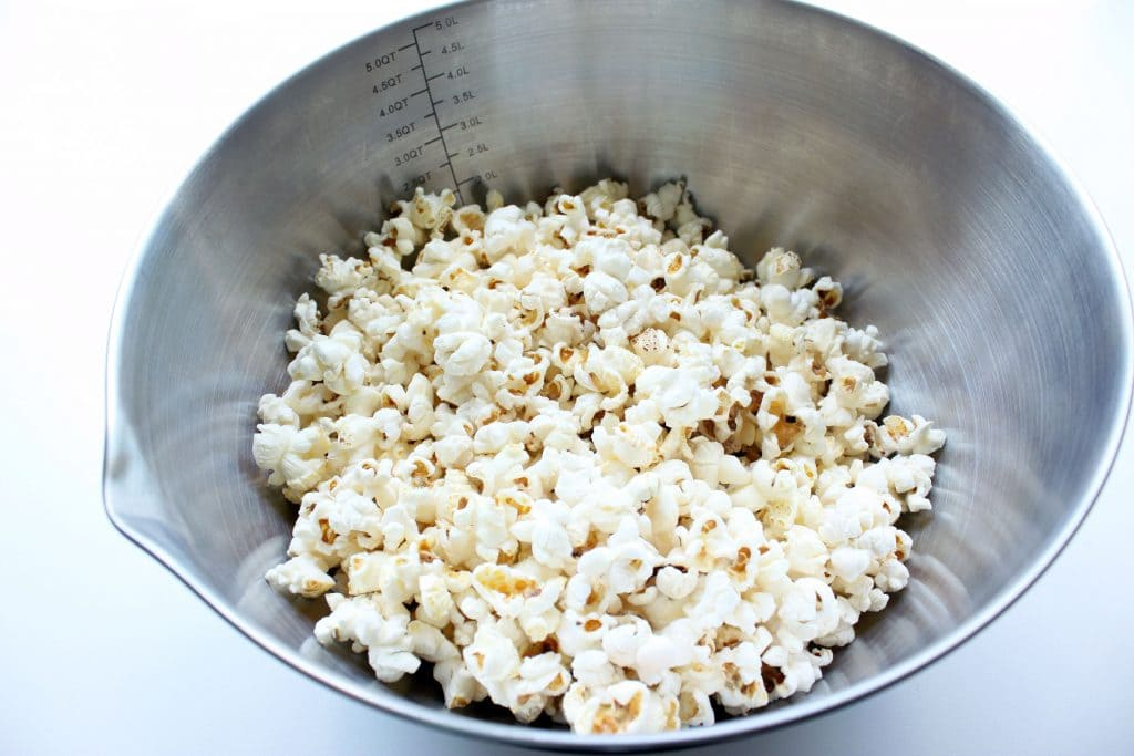 Cinnamon Roll Popcorn - Corn Popped