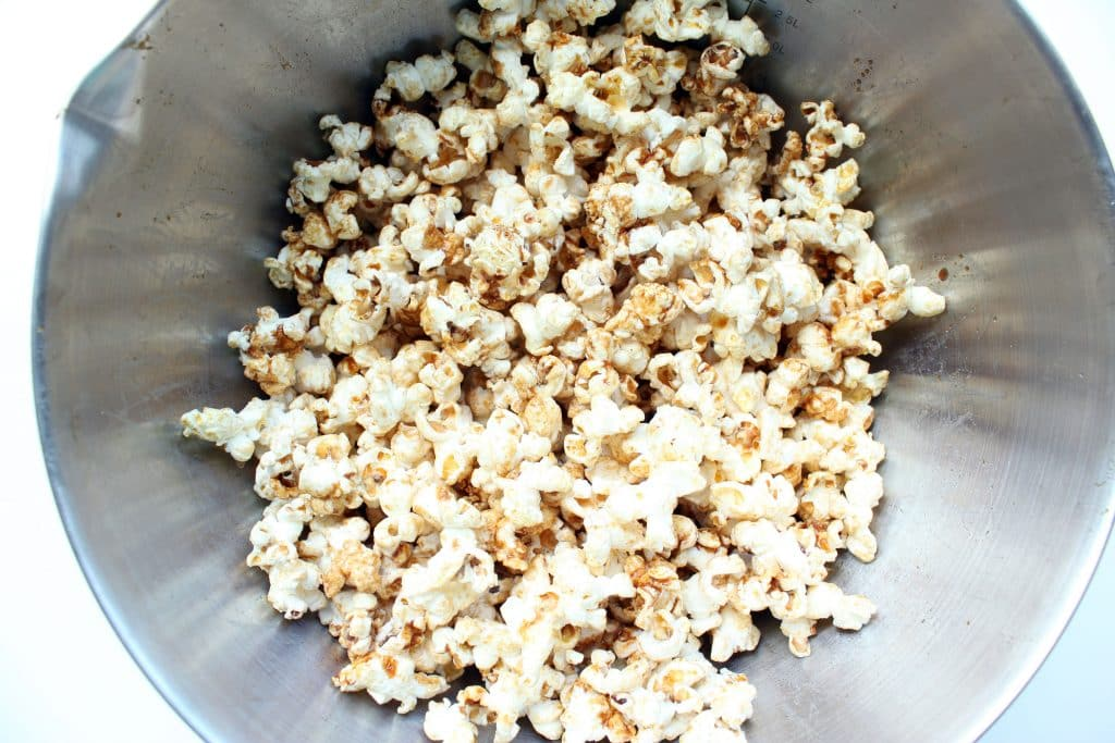Cinnamon Roll Popcorn - Ready to Serve