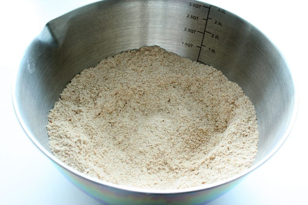 Gluten Free Coffee Cake - Dry Ingredients