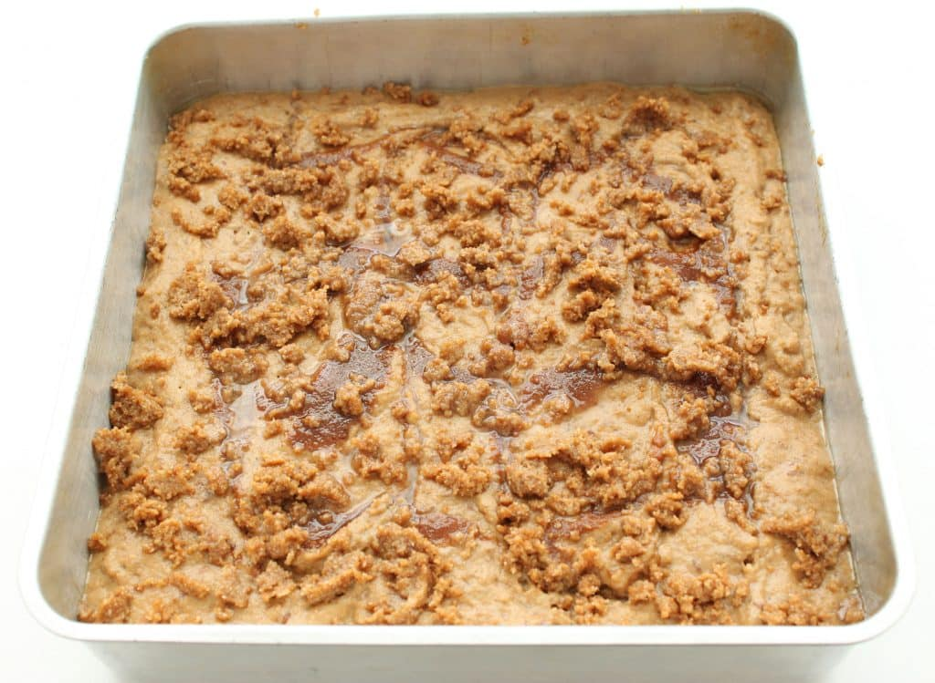Gluten Free Coffee Cake - Ready to Bake