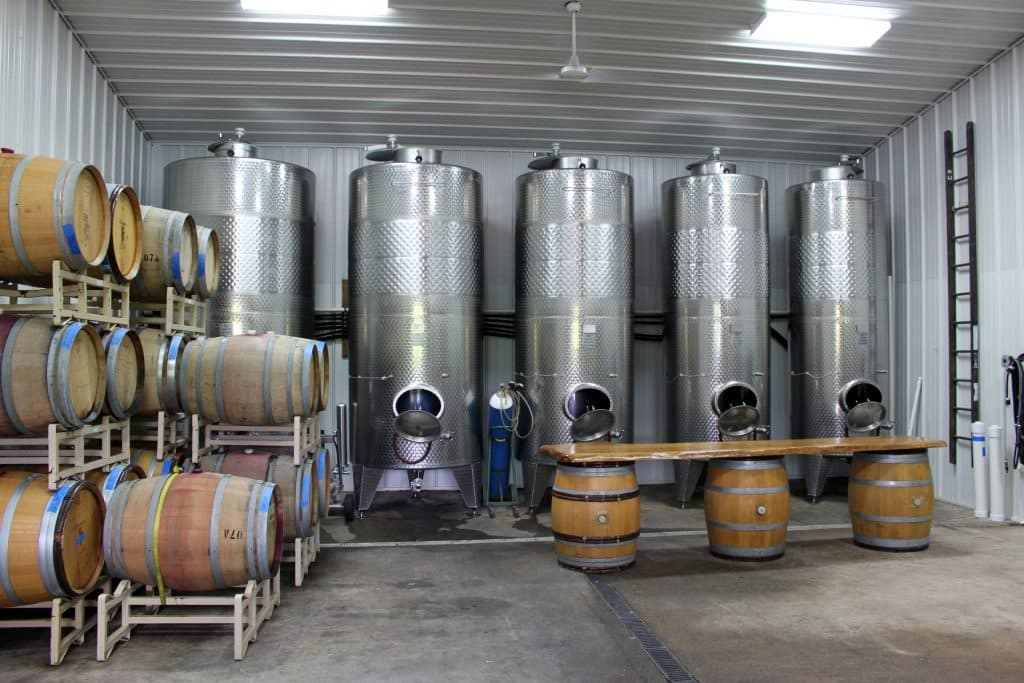 Pearmund Cellars - Production Area