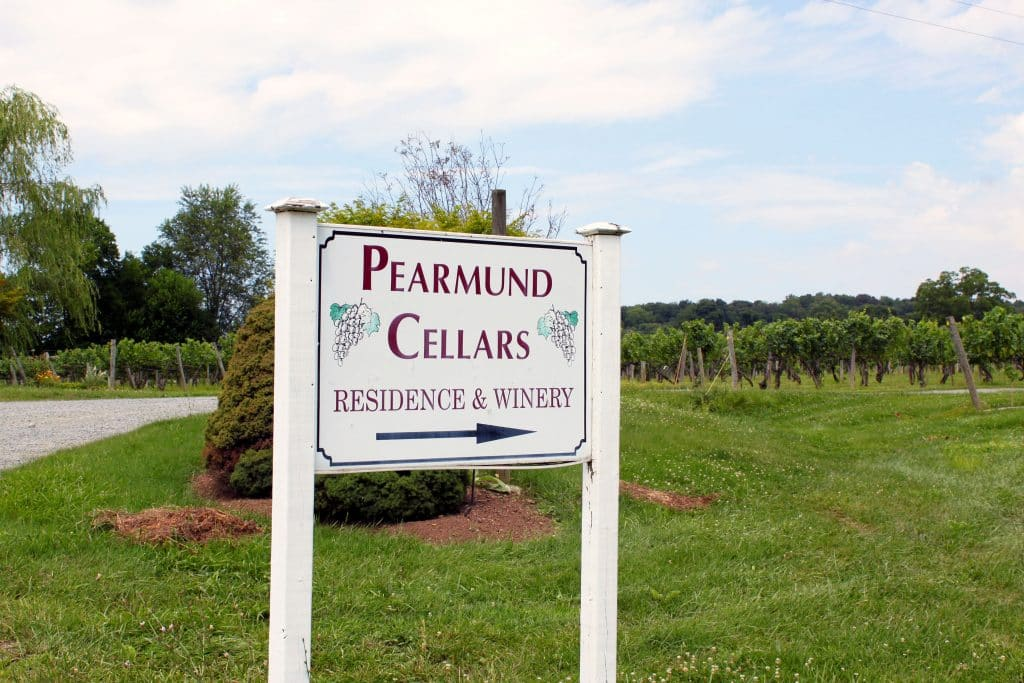 Pearmund Cellars - Winery Sign