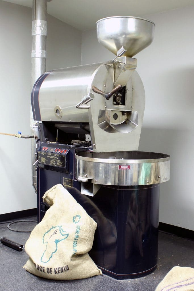 Vint Hill Coffee - Diedrich IR-12 Coffee Roaster