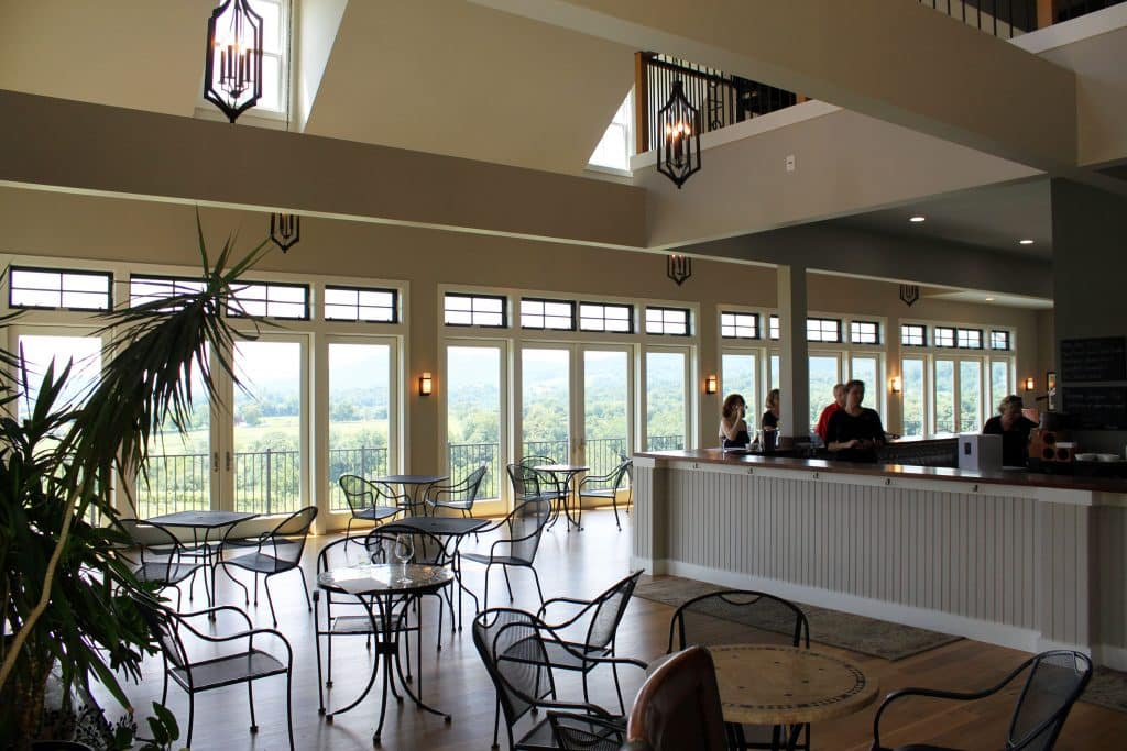 Delaplane Cellars - Tasting Room