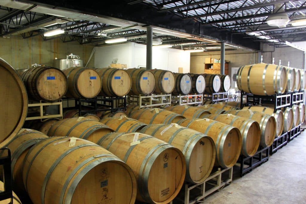 Molon Lave Vineyards - Barrels