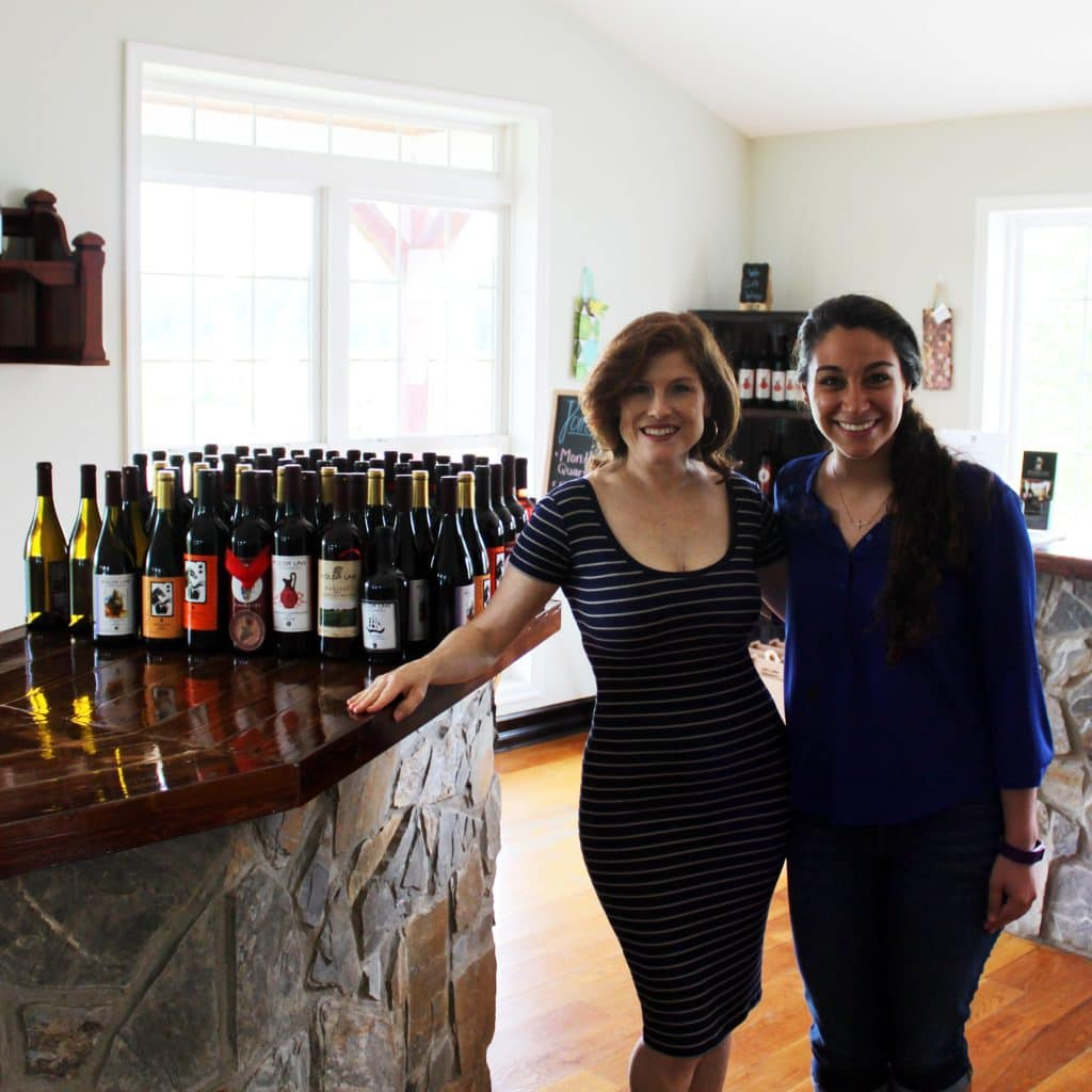 Molon Lave Vineyards - Jana and Leah
