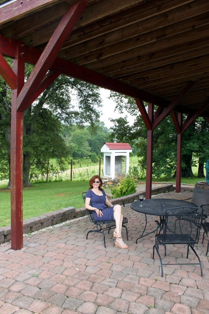 Molon Lave Vineyards - Pavilion
