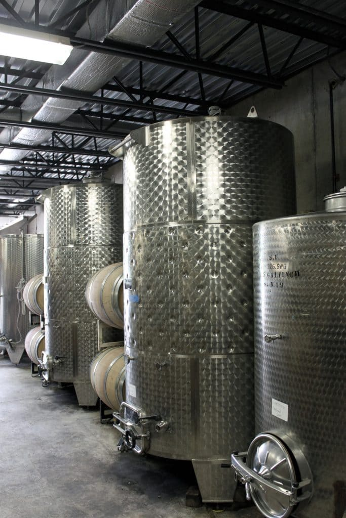 Molon Lave Vineyards - Stainless Tanks