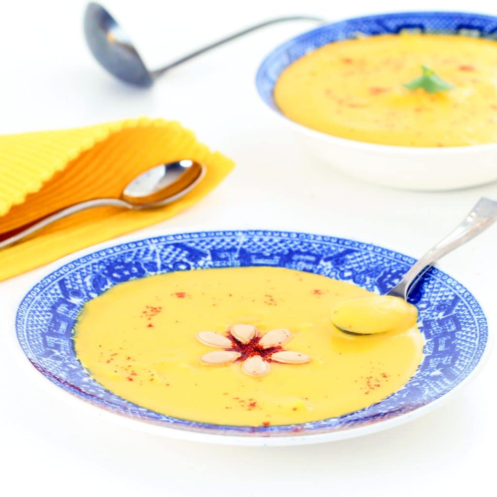 Sweet & Spicy Butternut Bisque & Chowder (Gluten-free, Plant-based)
