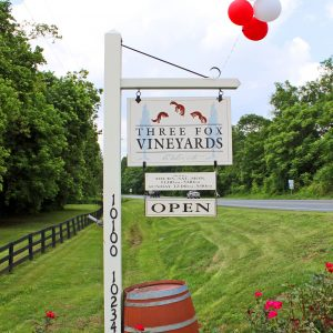 Three Fox Vineyards (Delaplane, Virginia)